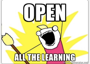 Open all the Learning Meme